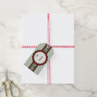 Very Merry Christmas Bells Gift Tag Pack Of Gift Tags
