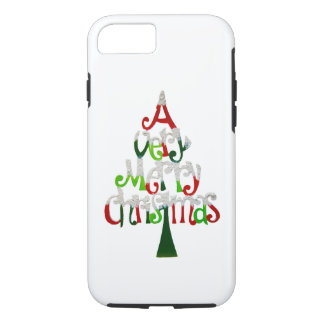Very Merry Christmas Tree Case-Mate iPhone Case