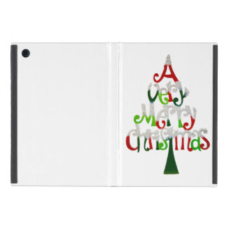 Very Merry Christmas Tree Cover For iPad Mini