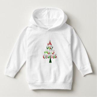 Very Merry Christmas Tree Hoodie