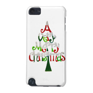 Very Merry Christmas Tree iPod Touch (5th Generation) Case