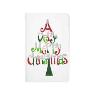 Very Merry Christmas Tree Journal
