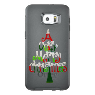 Very Merry Christmas Tree OtterBox Samsung Galaxy S6 Edge Plus Case