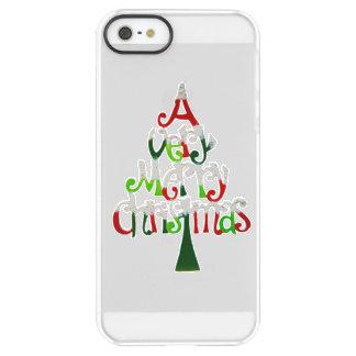 Very Merry Christmas Tree Permafrost® iPhone SE/5/5s Case