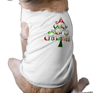 Very Merry Christmas Tree Shirt