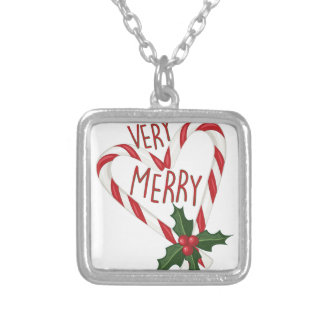 Very Merry Silver Plated Necklace