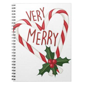Very Merry Spiral Notebook