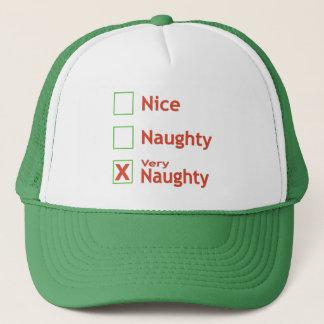 Very Naughty Trucker Hat