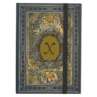 Very Old Hand Embroidered Elizabethan Panel Case For iPad Air