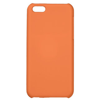 Very Orange iPhone 5C Cover