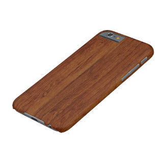 Very Realistic Bamboo Wood Texture Pattern Barely There iPhone 6 Case
