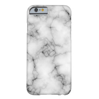 Very realistic White Marble Barely There iPhone 6 Case