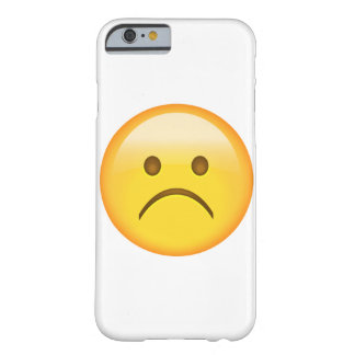 Very sad - Emoji Barely There iPhone 6 Case