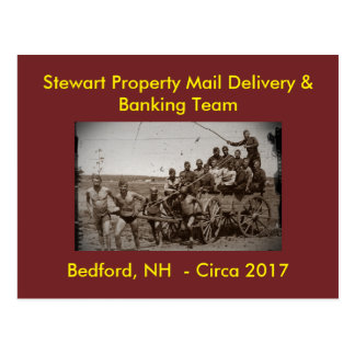 Very Slow Company Service (Humor): Postcards