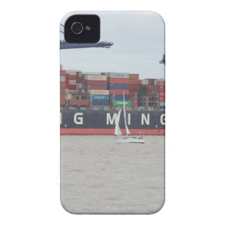 Very Small Yacht Very Large Ship! iPhone 4 Cases