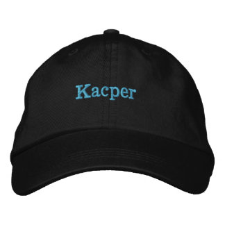 Very soft embroidered hat