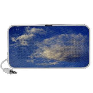 Very structured cloud in a beautiful blue sky mp3 speaker