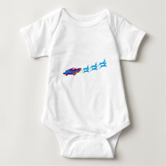 Very Supernaturnal Christmas Baby Bodysuit