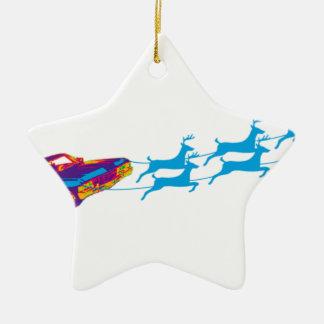 Very Supernaturnal Christmas Ceramic Ornament