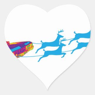 Very Supernaturnal Christmas Heart Sticker
