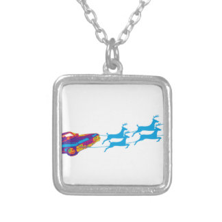 Very Supernaturnal Christmas Silver Plated Necklace