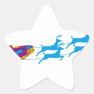 Very Supernaturnal Christmas Star Sticker