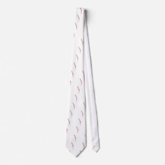 Very Tall Basketball Player Action Sticker Tie