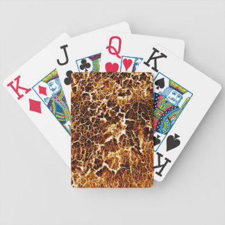 Very Unique Abstract Texture Bicycle Playing Cards
