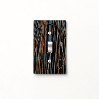 Very Unique Cool Rusty Bars Light Switch Cover