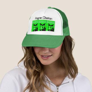 Very verde gatos trucker hat