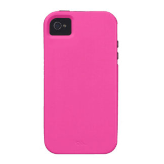 Very Very Pink Color Only Bright Pink iPhone 4/4S Cover