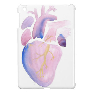 Very Violet Heart Case For The iPad Mini