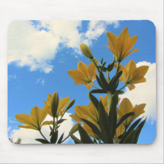 VeryTall Gold Asiatic Lilies Mouse Pad