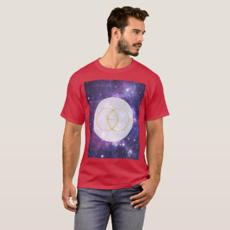 Vesica Pisces Sacred Geometry Art T-Shirt