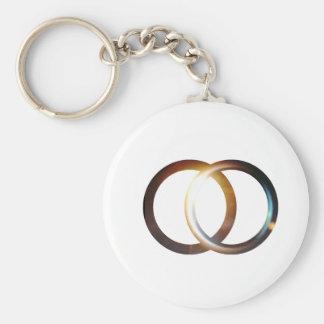 Vesica Piscis Sunrise Keychain