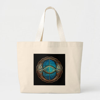 Vesicle Pisces Large Tote Bag