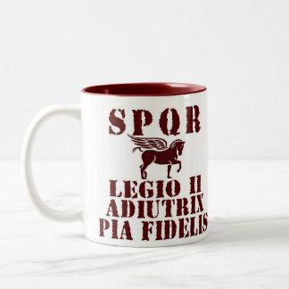 Vespasian's 2nd Roman Legion Pegasus Coffee Mug