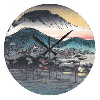 Vesper Bell at Mii Temple, Lake Biwa Clocks