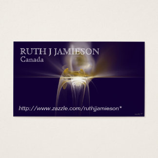VESSEL OF LIGHT BUSINESS CARD