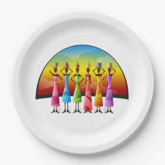 Vessels Of The Future BHM Party Paper Plates