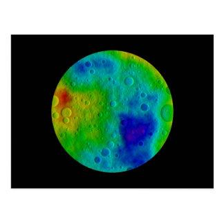 Vesta Asteroid / Protoplanet Postcard