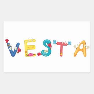 Vesta Sticker