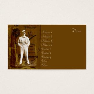 Vesta Tilley Business Card