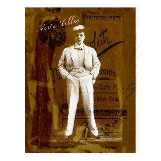 Vesta Tilley Postcard