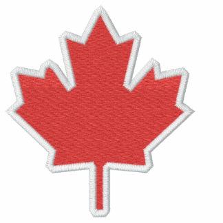 Veste de feuille d'érable du Canada