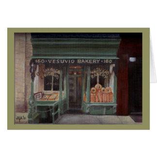 Vesuvio Bakery NYC Note Card