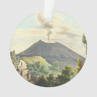 Vesuvius Active Volcano 1832 Naples Italy Ornament