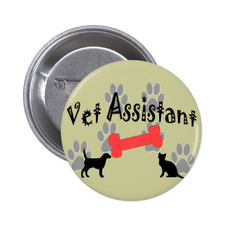 Vet Assistant Gifts 2 Inch Round Button