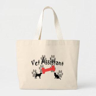 Vet Assistant Gifts Canvas Bag