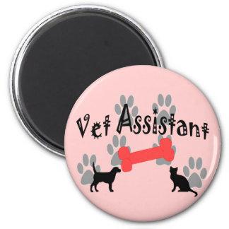 Vet Assistant Gifts Magnet